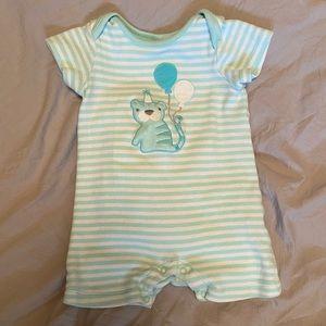 Gymboree Baby Tiger Balloons romper